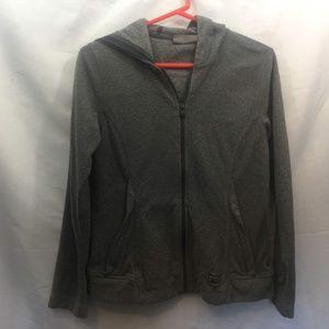 REI Size S Gray Full Zip Fleece Jacket